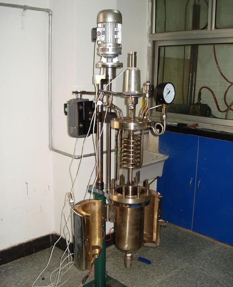 电机提升釜盖反应釜