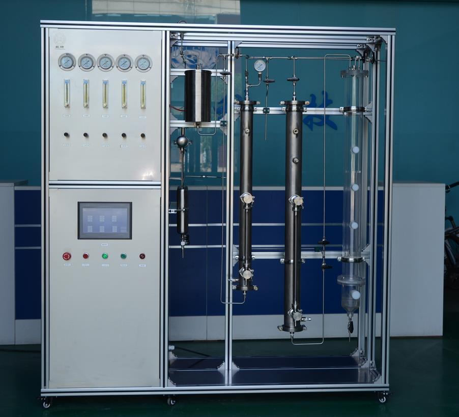 吸收与解析试验装置